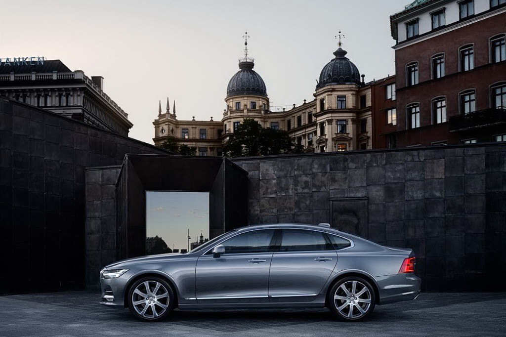 Location Profile Volvo S90 Osmium Grey