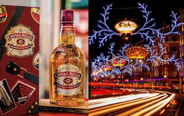 Ζήσε το γιορτινό Λονδίνο με τον τρόπο του Chivas