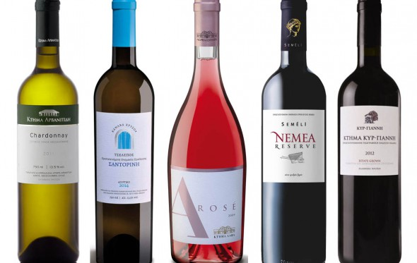 Tα Top 5 κρασιά για το γιορτινό τραπέζι