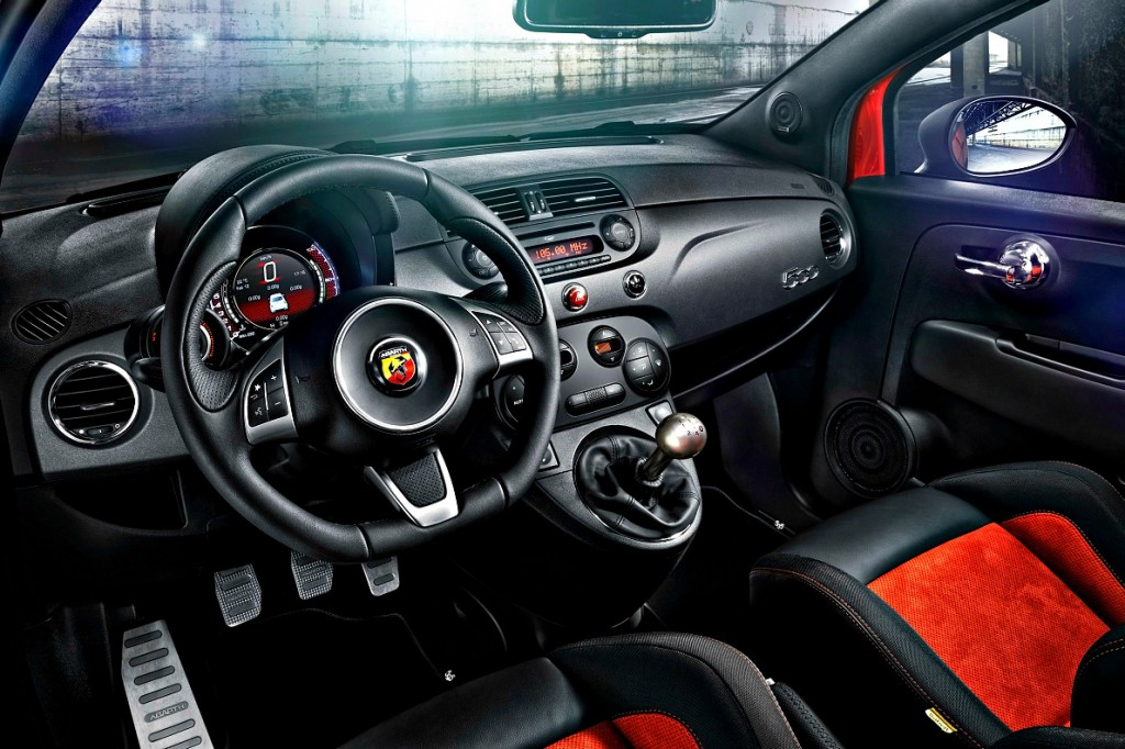 Abarth interior