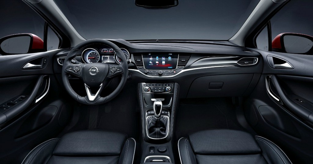 Opel Astra interior II