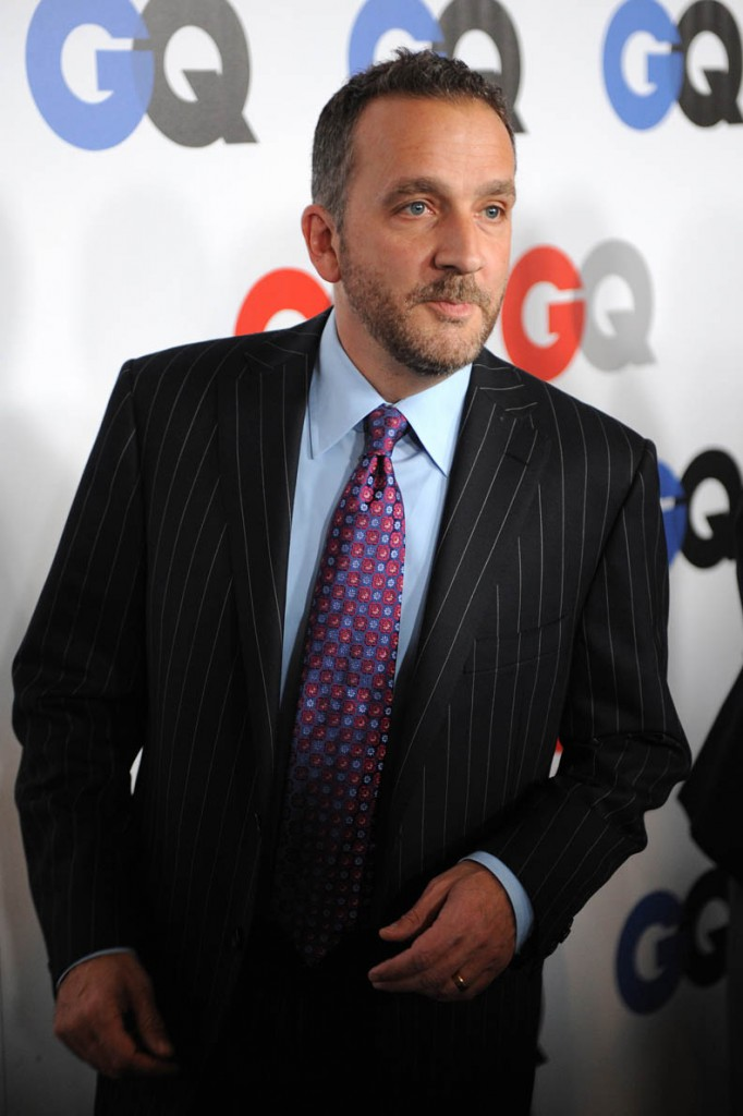 Writer George Pelecanos arrives at the GQ Men of the Year party at the Chateau Marmont Hotel on November 18, 2008 in Los Angeles, California. AFP PHOTO / Robyn BECK