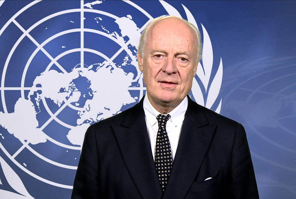 Statement by the United Nations Special Envoy for Syria, Staffan de Mistura