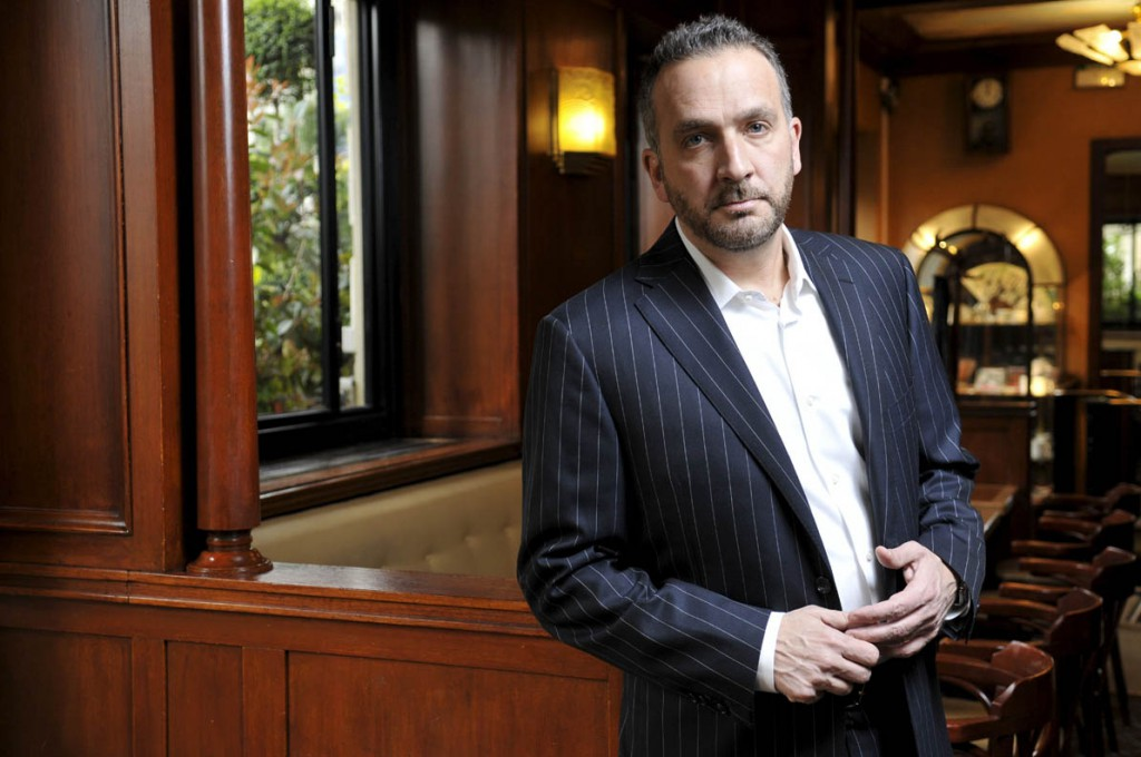 George Pelecanos, auteur de romans policiers dont l'action se deroule a Washington D.C.