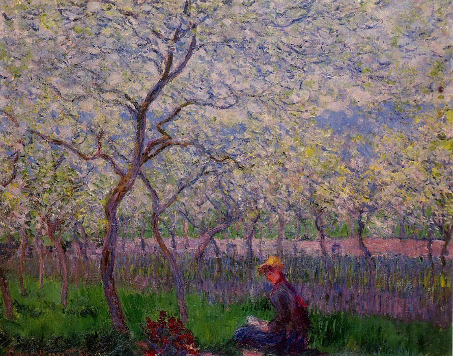 An-Orchard-in-Spring