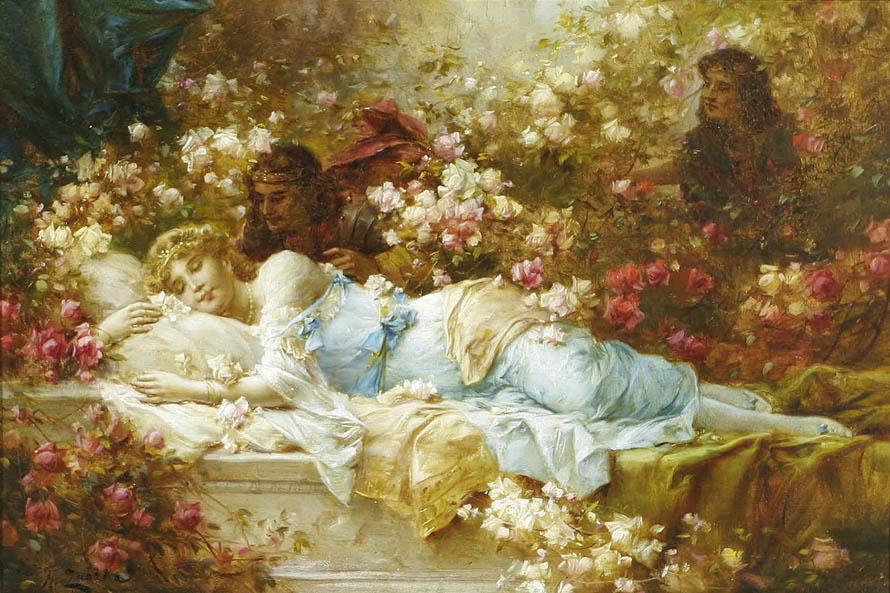 Hans Zatzka - Sleeping Beauty