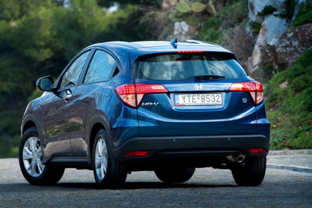 Honda HR-V rear