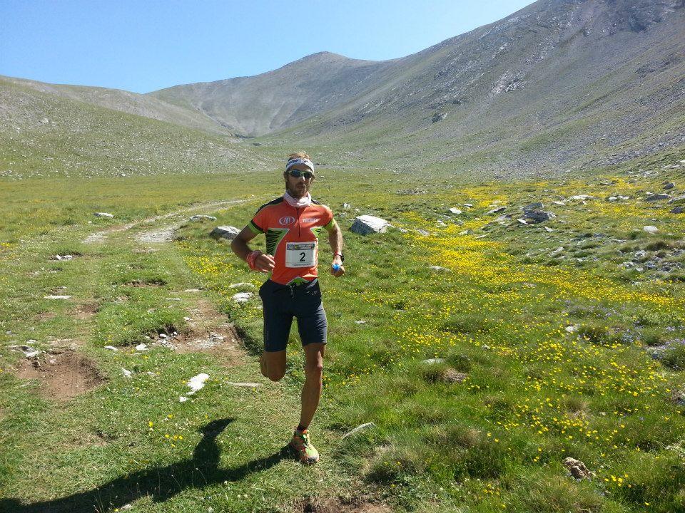 Στον αγώνα Olympus Phaethon Marathon 2015, όπου κατέλαβε τη δεύτερη θέση, με χρόνο 5.45.23.