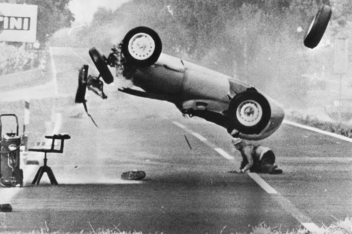 1959 German GP accident