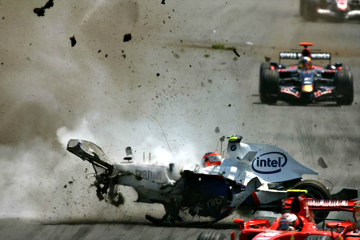 Kubica accident 2007