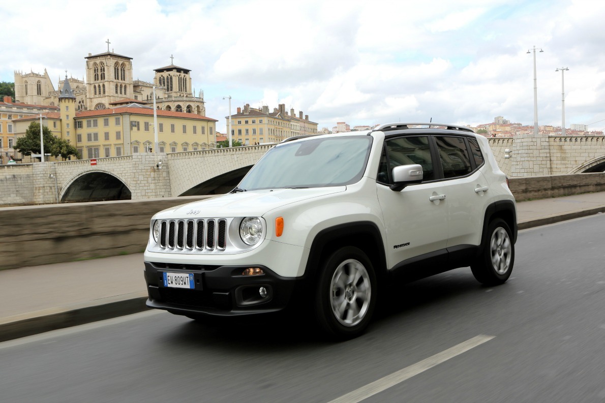 Renegade on road