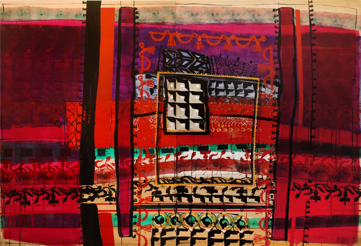Carpets2-200X140-diptych-acrylic-&-oil-on-canvas-2015-Vassilis-Karakatsanis-3