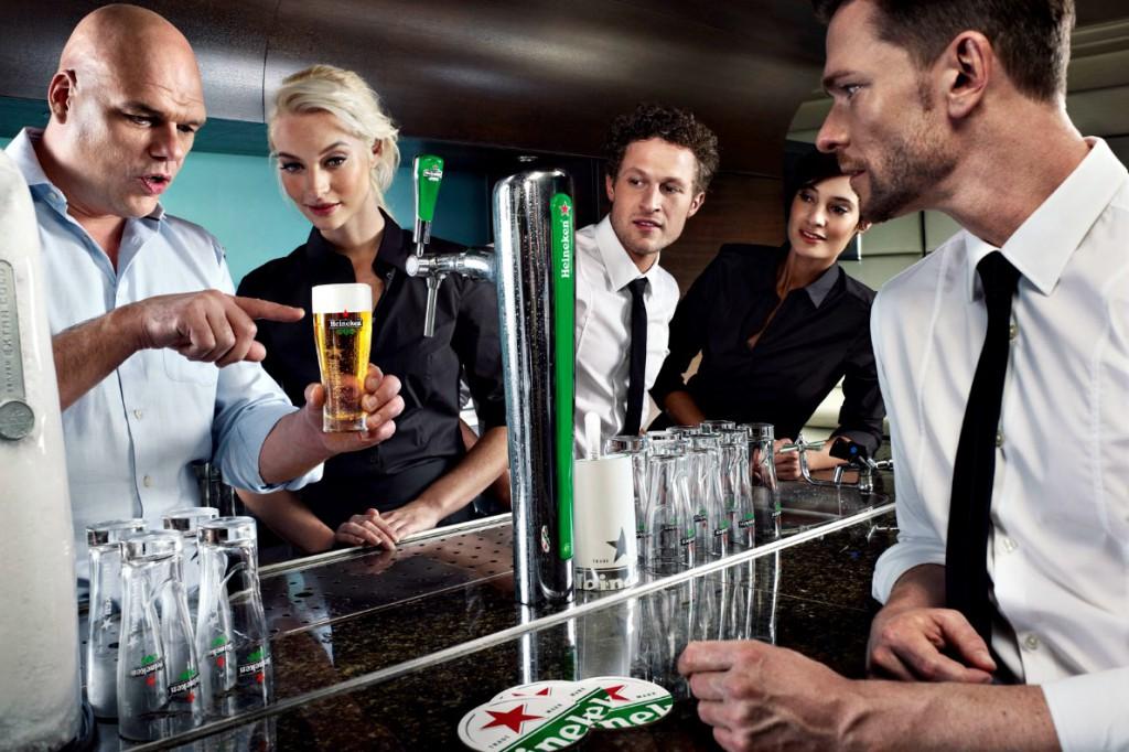 Heineken served I