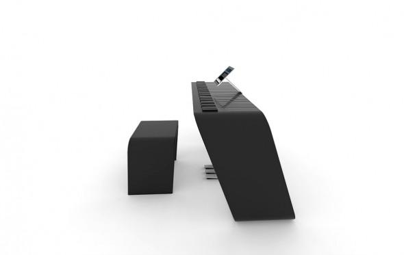 Alpha Piano και Porsche Design έφτιαξαν το πιάνο του μέλλοντος