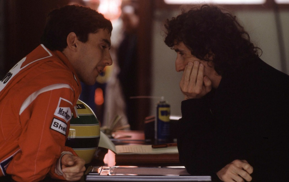 Foto LaPressesport motoriGran Premio Formula 1nella foto: Ayrton Senna e Alain Prost