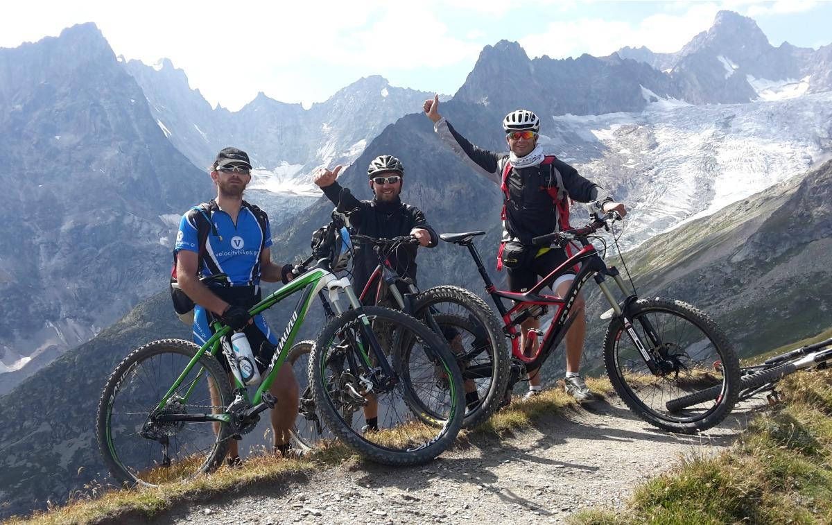4.Στο Grand Col Ferret 2.537m