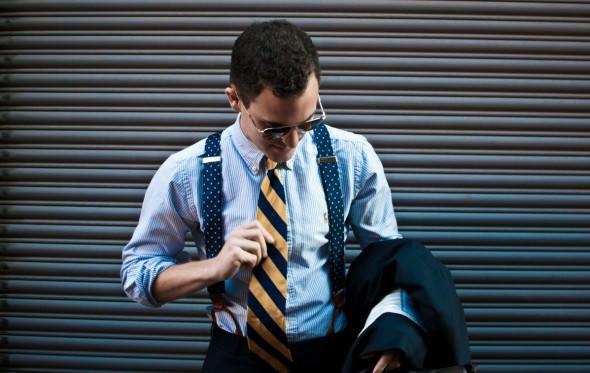 Δυο κουβέντες παραπάνω για τις ριγέ γραβάτες