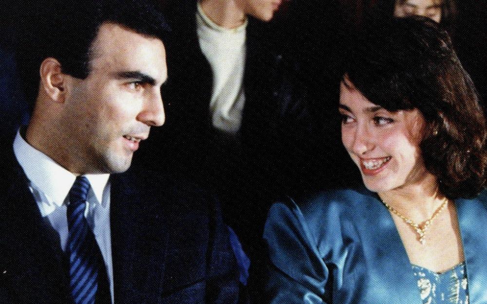 4. Με τον Νίκο Γκάλη. Kαλύτεροι αθλητές του 1987