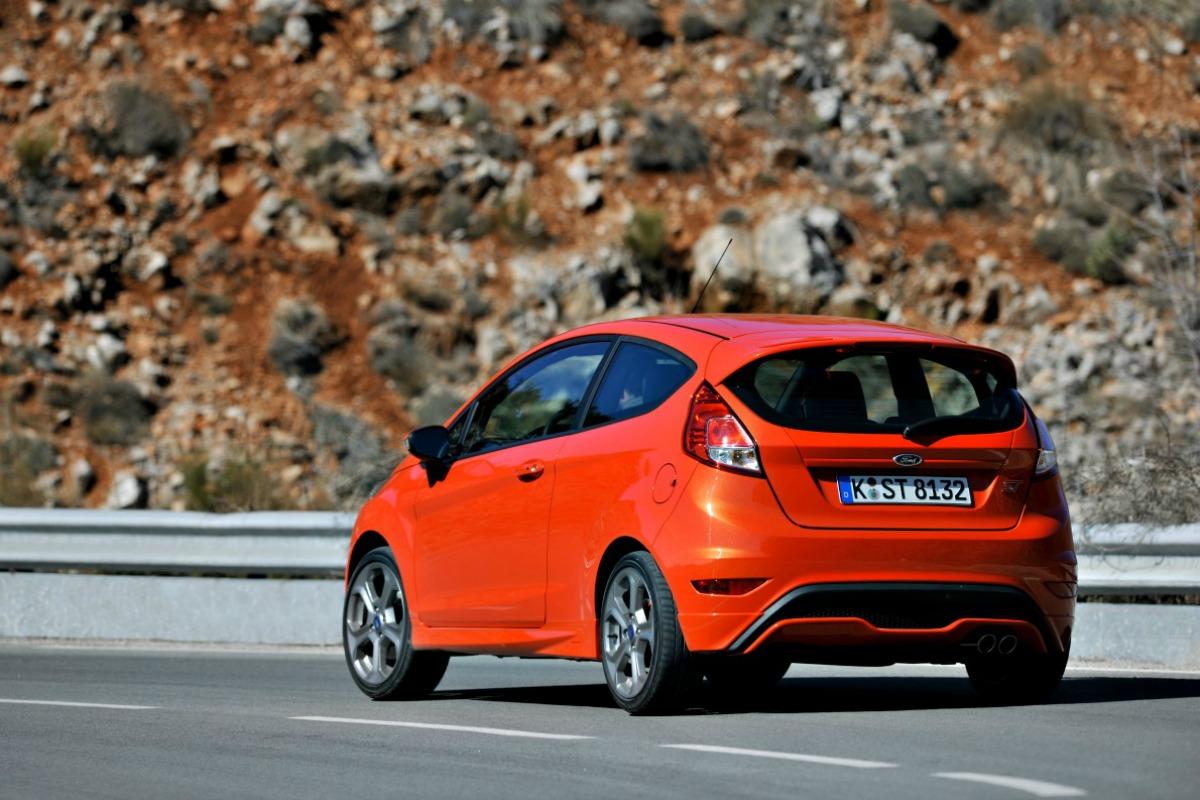 Fiesta ST rear