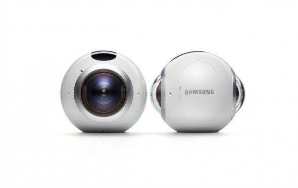 Gear 360: Η κάμερα που τα βλέπει όλα (και εσένα που την κρατάς)