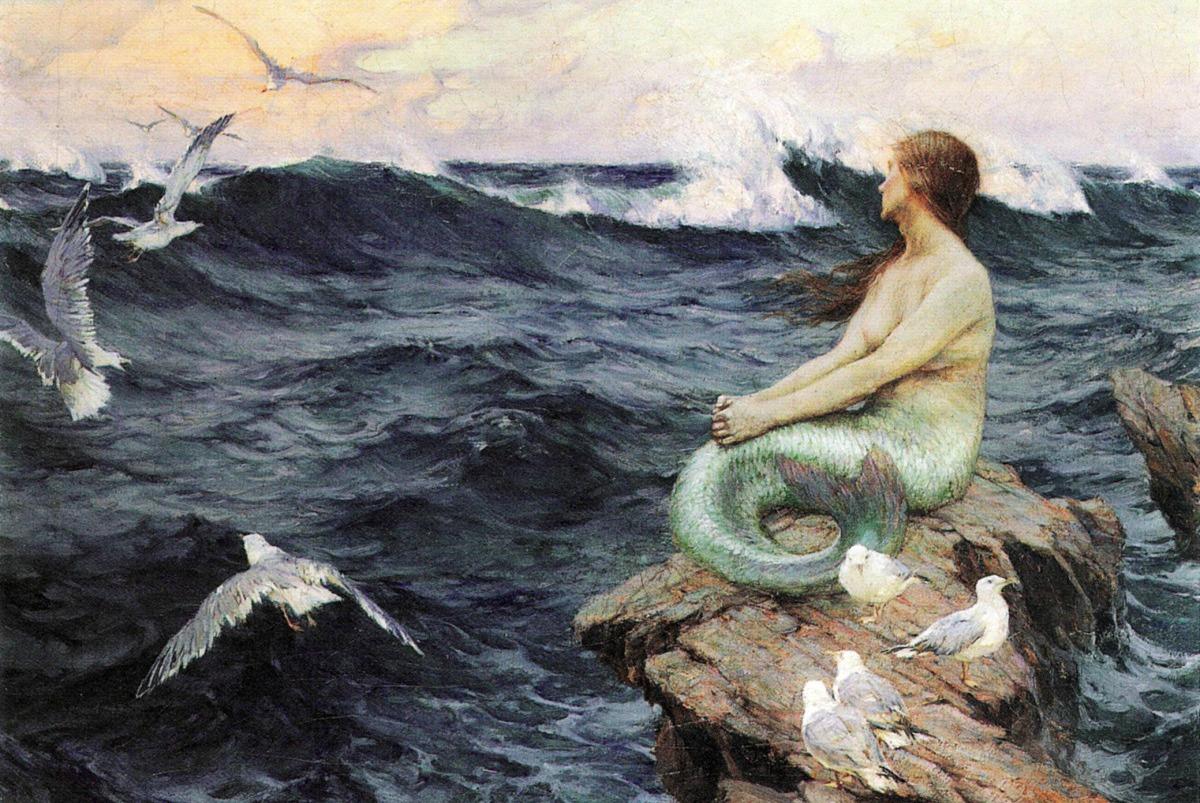 a-mermaid