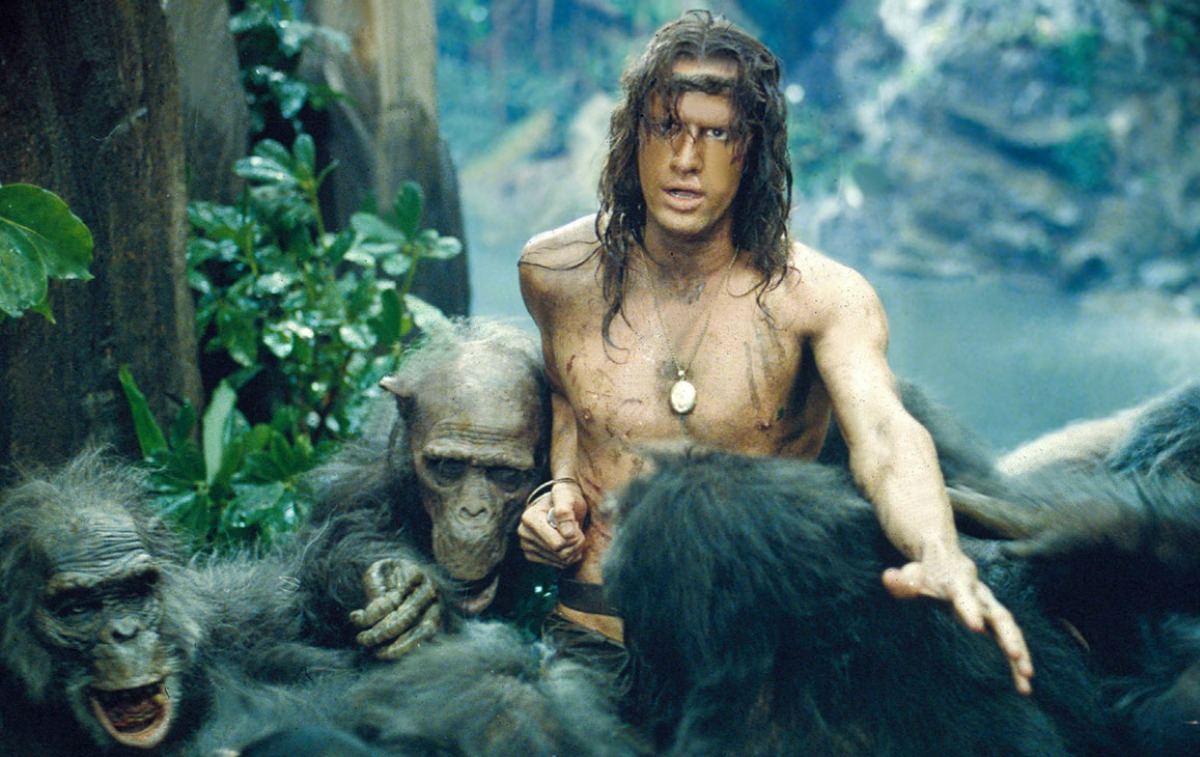 Greystoke: The Legend of Tarzan, Lord of the Apes (1984) Directed by Hugh Hudson Shown: Christopher Lambert
