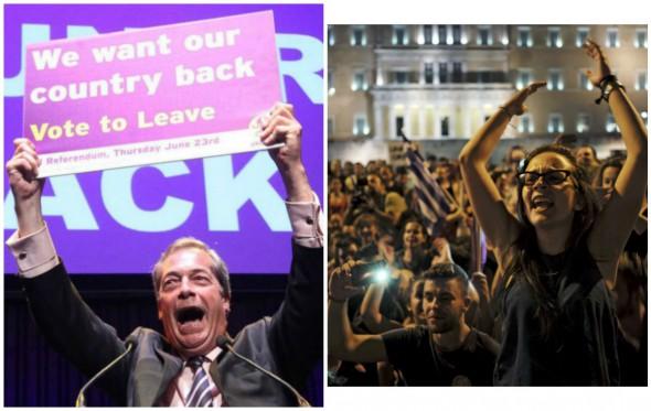 Βρετανία – Ελλάδα: Μαθήματα από δύο δημοψηφίσματα