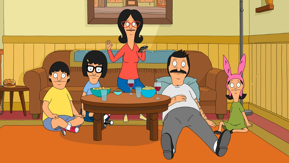 """BOB'S BURGERS: The Belchers take sides as they are forced to decide whether memories are enough to keep their family sofa in the """"Sacred Couch"""" episode of BOB'S BURGERS airing Sunday, March 6 (7:30-8:00 PM ET/PT) on FOX. BOB'S BURGERS ™ and © 2016 TCFFC ALL RIGHTS RESERVED. CR: FOX"""