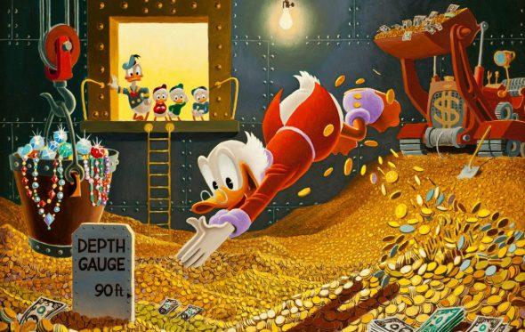 """Κωσταπάνος Μηλιαρέσης: «Έτσι με έκανε """"πλουσιότερο"""" ο Σκρουτζ Μακ Ντακ»"""