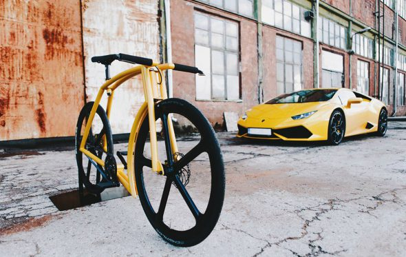 Viks GT: Αυτό το ποδήλατο όταν μεγαλώσει θέλει να γίνει Lamborghini