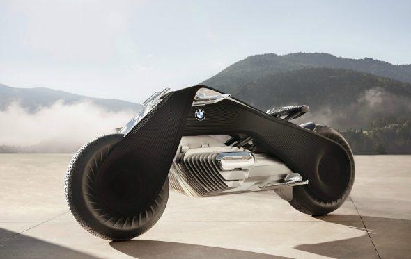 BMW Motorrad VISION NEXT 100: Η απόλυτη ισορροπία πάνω σε δύο τροχούς