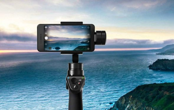 DJI Osmo Mobile: Για selfies ακόμα και πάνω στη μοτοσικλέτα!