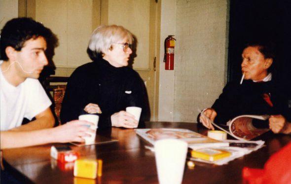 Γεύμα με τον Andy Warhol