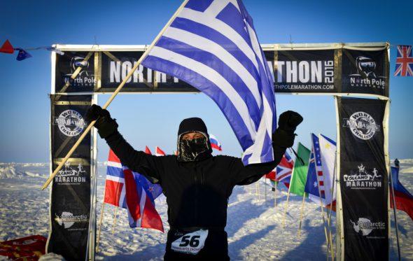 Η απίστευτη ιστορία του Έλληνα που έτρεξε στον μαραθώνιο του Βόρειου Πόλου