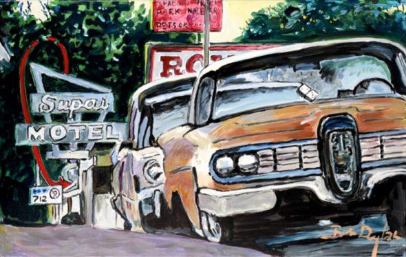 O Bob Dylan ζωγραφίζει τη δική του Αμερική