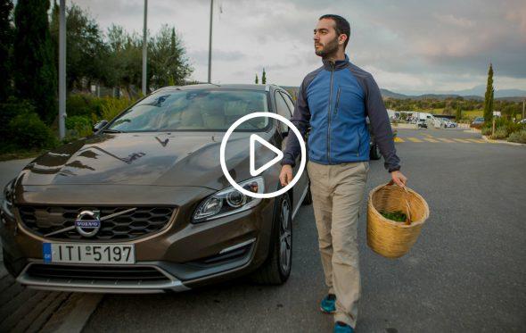 Ο Σωτήρης Λυμπερόπουλος γυρνάει την Πελοπόννησο με ένα Volvo και εξάγει προϊόντα: Το trailer