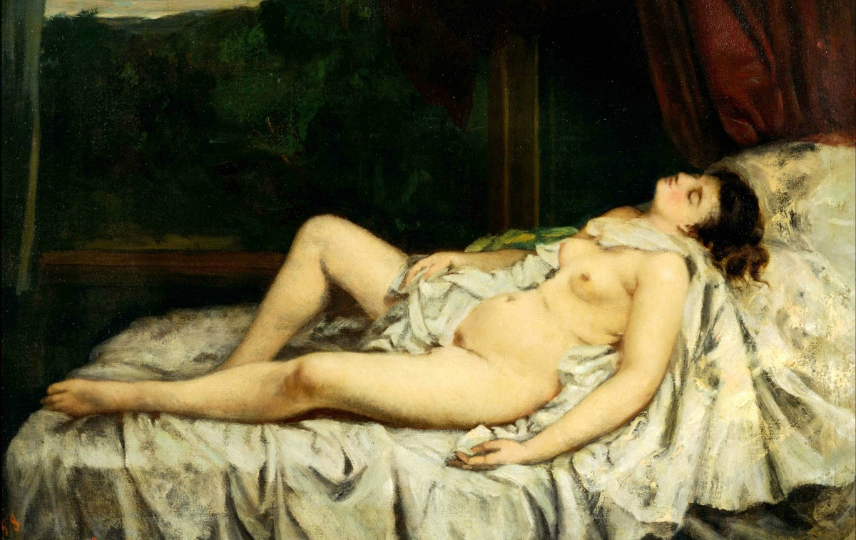 Sleeping Nude.