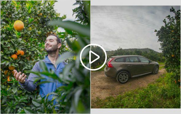 Ο Σωτήρης εξερευνά τον τόπο του στο τιμόνι ενός Volvo και εξάγει προϊόντα