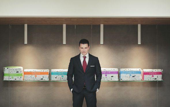 Τζάκο Καράσσο, ιδρυτής και CEO της εταιρείας Agnotis