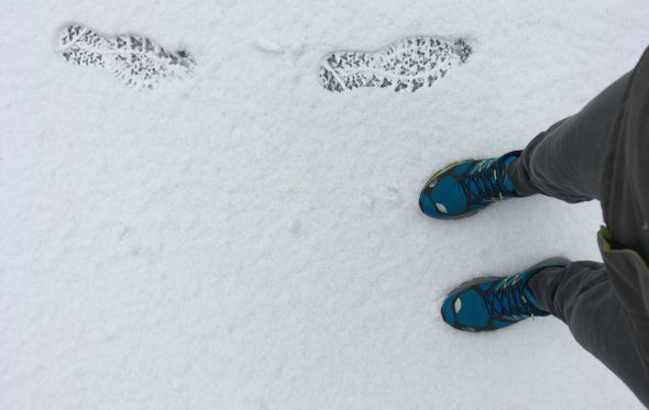 Τρέχοντας στους μείον και στα χιόνια