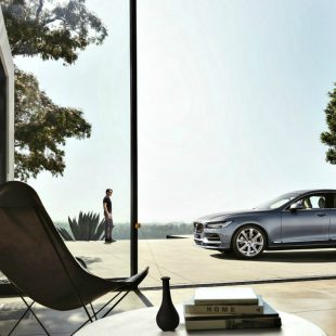 Volvo S90 China version exterior front/side