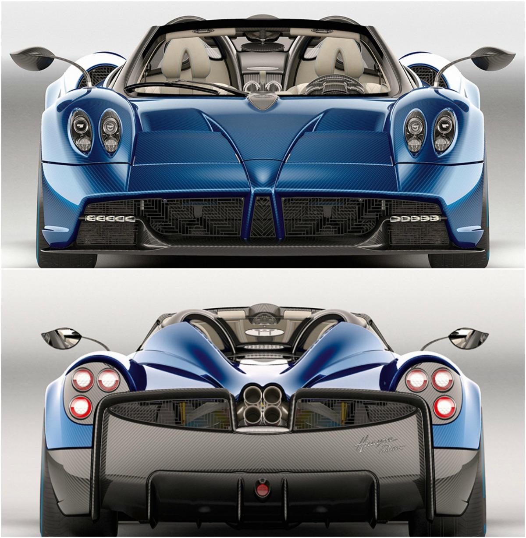 Pagani Huayra Roadster: Έργο τέχνης αξίας 2,2 εκατομμυρίων