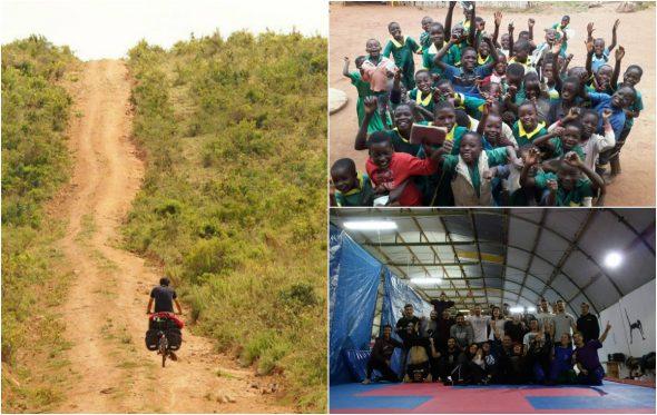 Η ελληνική ομάδα Spin the Wheel θέλει να «χαρίσει» 4.500 χαμόγελα από το Μαλάουι έως την Τανζανία