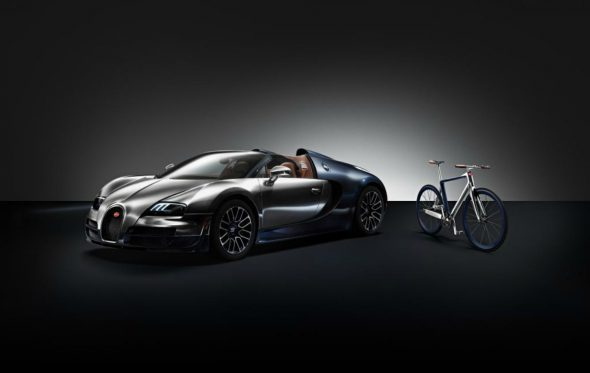 Το ποδήλατο της Bugatti είναι ορθοπεταλιά και ευρώ