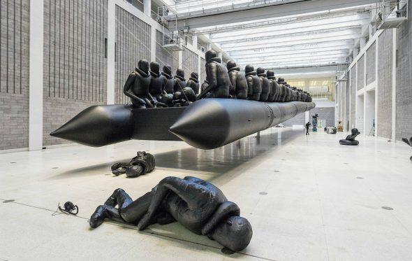 Το νέο installation του Ai Weiwei αποτυπώνει τη φρίκη της προσφυγικής κρίσης