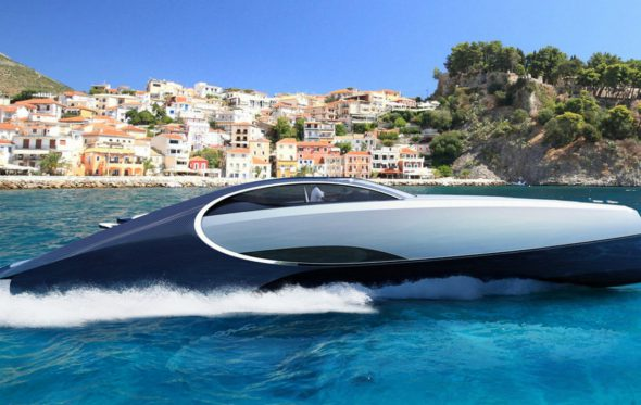 Niniette 66: Αυτή η Bugatti «σπινιάρει» στη θάλασσα