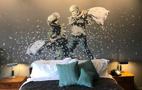 Το απίστευτο ξενοδοχείο του Banksy στη Δυτική Όχθη