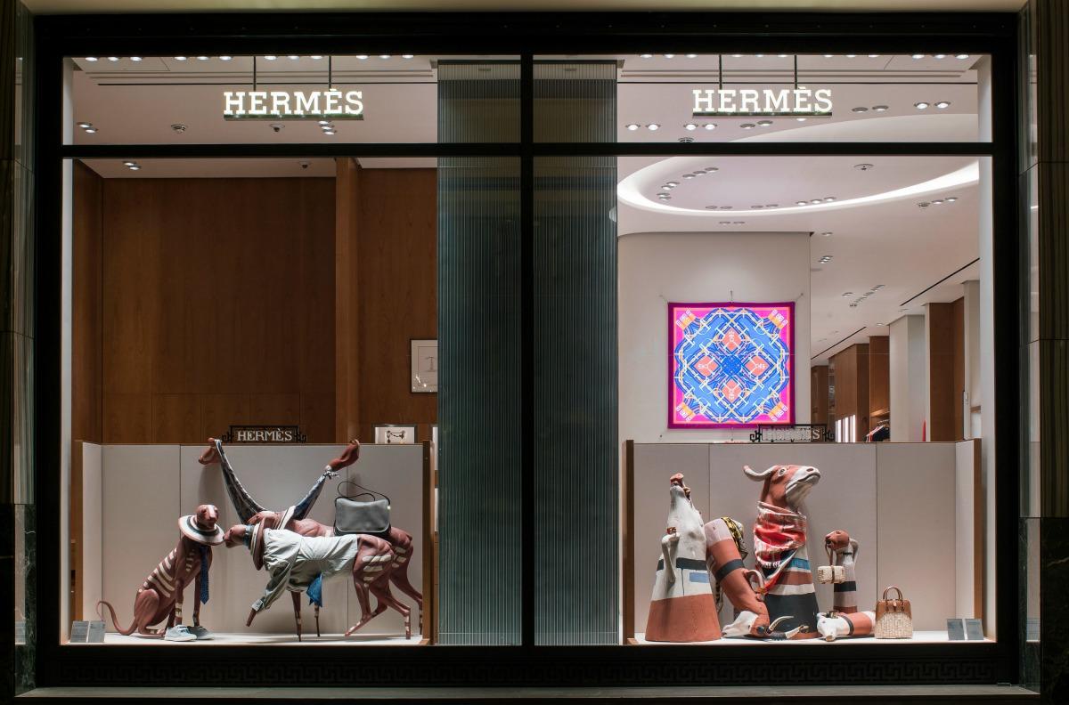 Hermes Windows Artist Socratis Socratous - Photography Stathis ... 9014b6d3e33