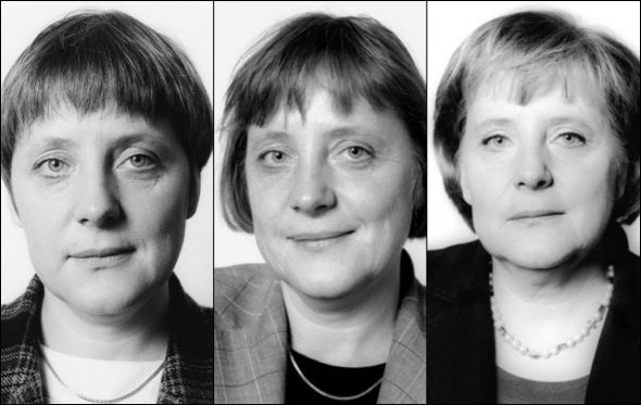 Τα διαφορετικά πρόσωπα της Angela Merkel