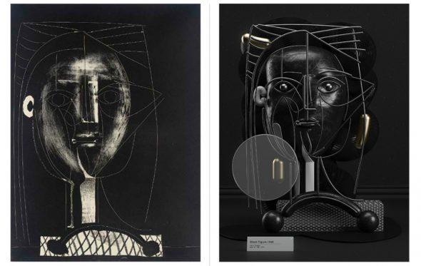 Αυτός ο καλλιτέχνης μετατρέπει τους πίνακες του Pablo Picasso σε 3D έργα τέχνης